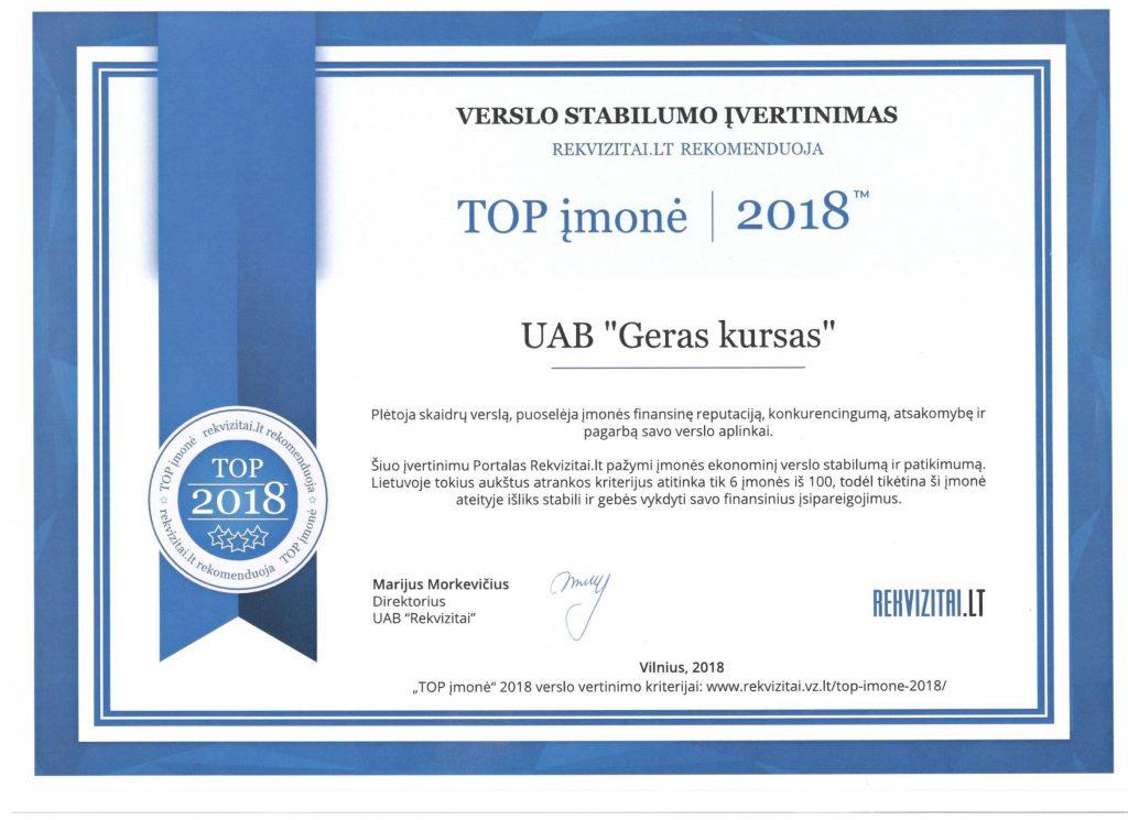 Geras-kursas-TOP-įmone-2018